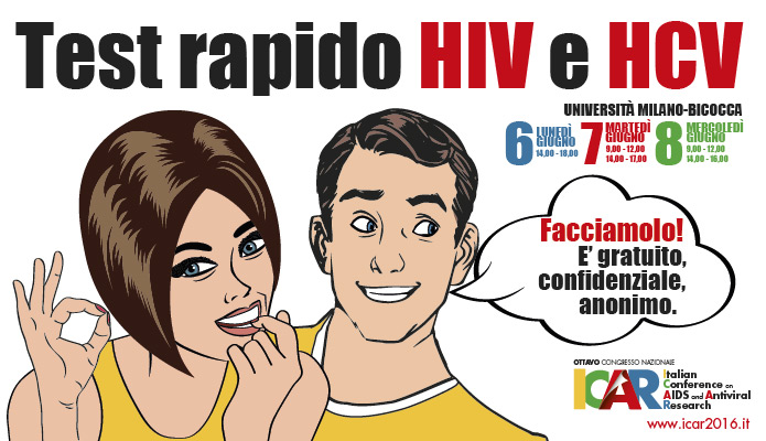 Test rapido HIV e HCV